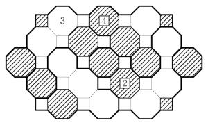 Truncated Square Chocona Example Solution
