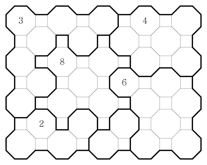 Truncated Square Chocona Hard 04