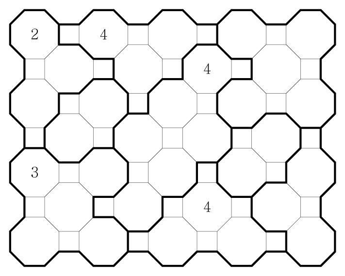 Truncated Square Chocona Medium 02