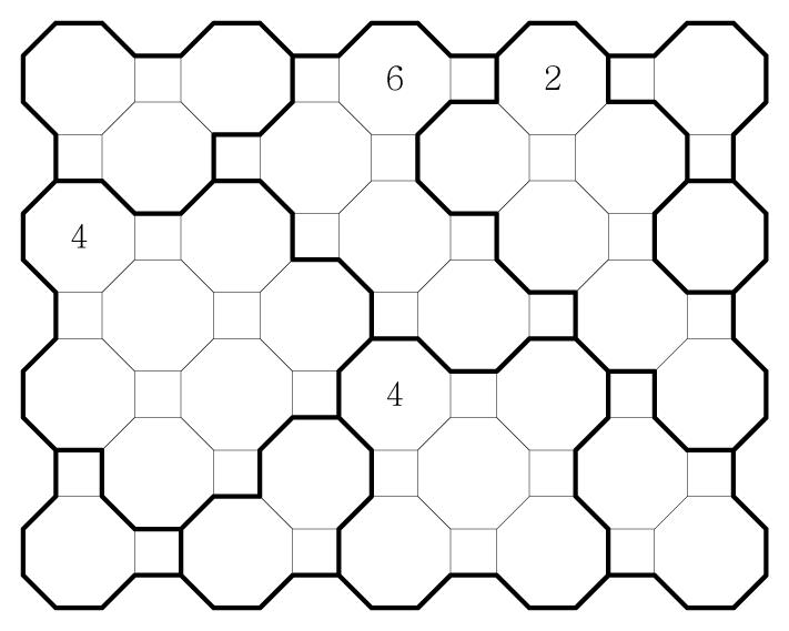 Truncated Square Chocona Medium 03