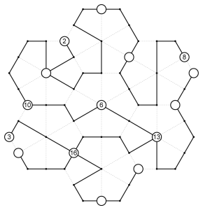 Deltoidal Trihexagonal Tree Example Solution