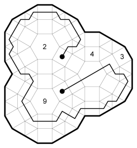 Dodecagon Square Joint Proximity Snake Example Solution