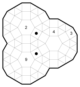Dodecagon Square Joint Proximity Snake Example
