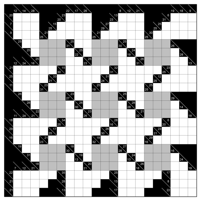 Embedded Sudoku Kakuro 1-01