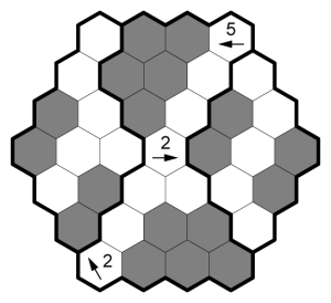 Hexagonal Kurokuron Example Solution