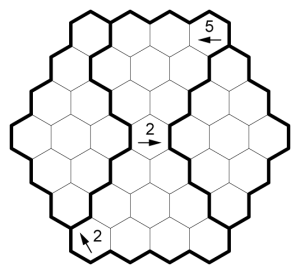 Hexagonal Kurokuron Example