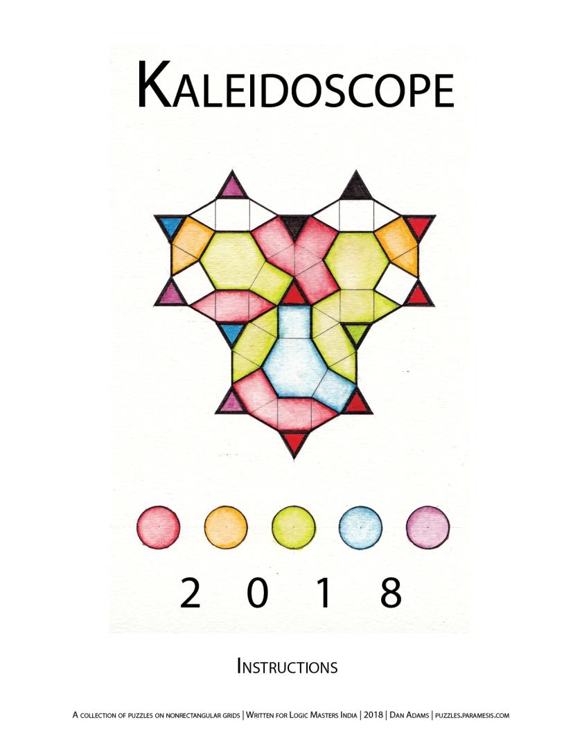 Kaleidoscope 2018 IB Cover